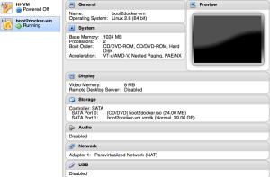 VirtualBox ของ Docker