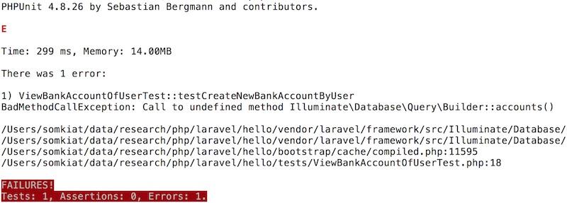 PHP] เรียนรู้การพัฒนา Web Application ด้วย Laravel framework