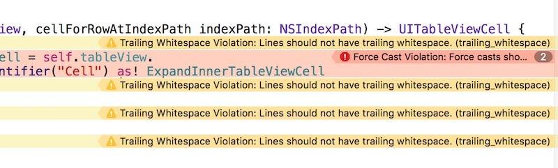 แนะนำการใช้งาน SwiftLint เพื่อตรวจสอบ code
