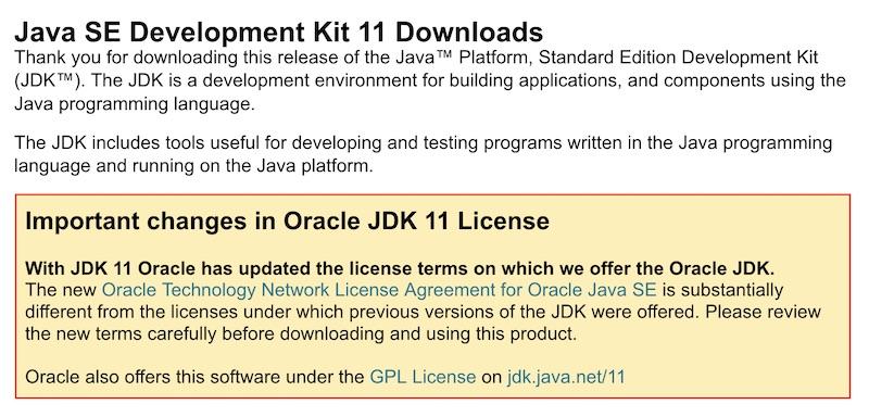 สวัสดี Java 11